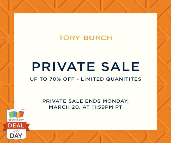 72325802cd6 Deal of the Day  Up to 70% Off at Tory Burch - thegoodstuff