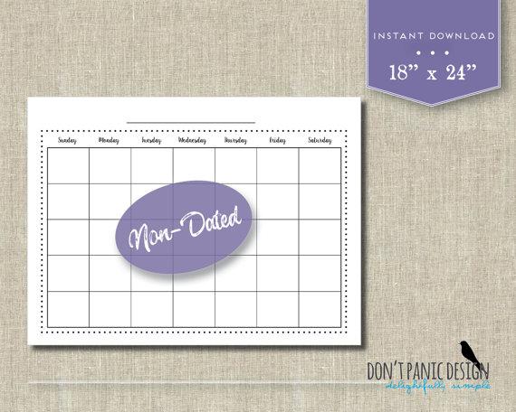 family-calendar-etsy