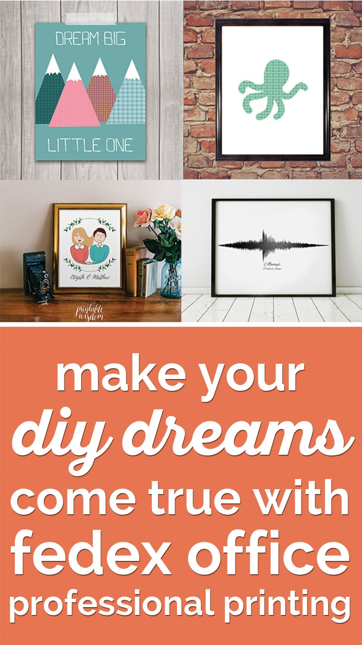 Your DIY Dreams Come True with FedEx Professional Printing