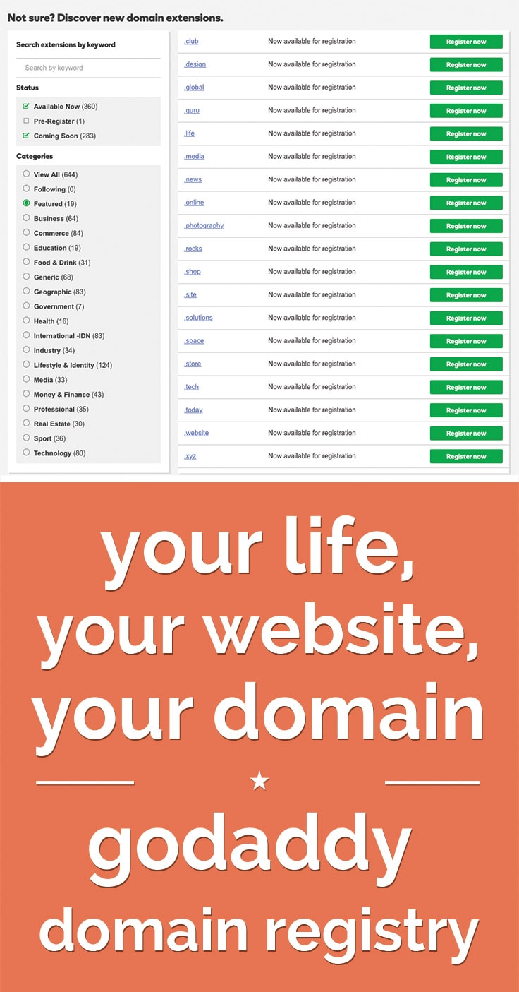 GoDaddy Domain Registry | Coupons.com