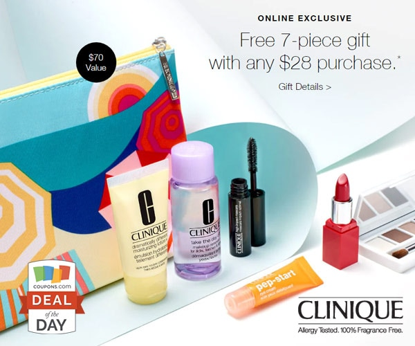 Deal of the Day: 7-Piece Gift at Clinique - thegoodstuff