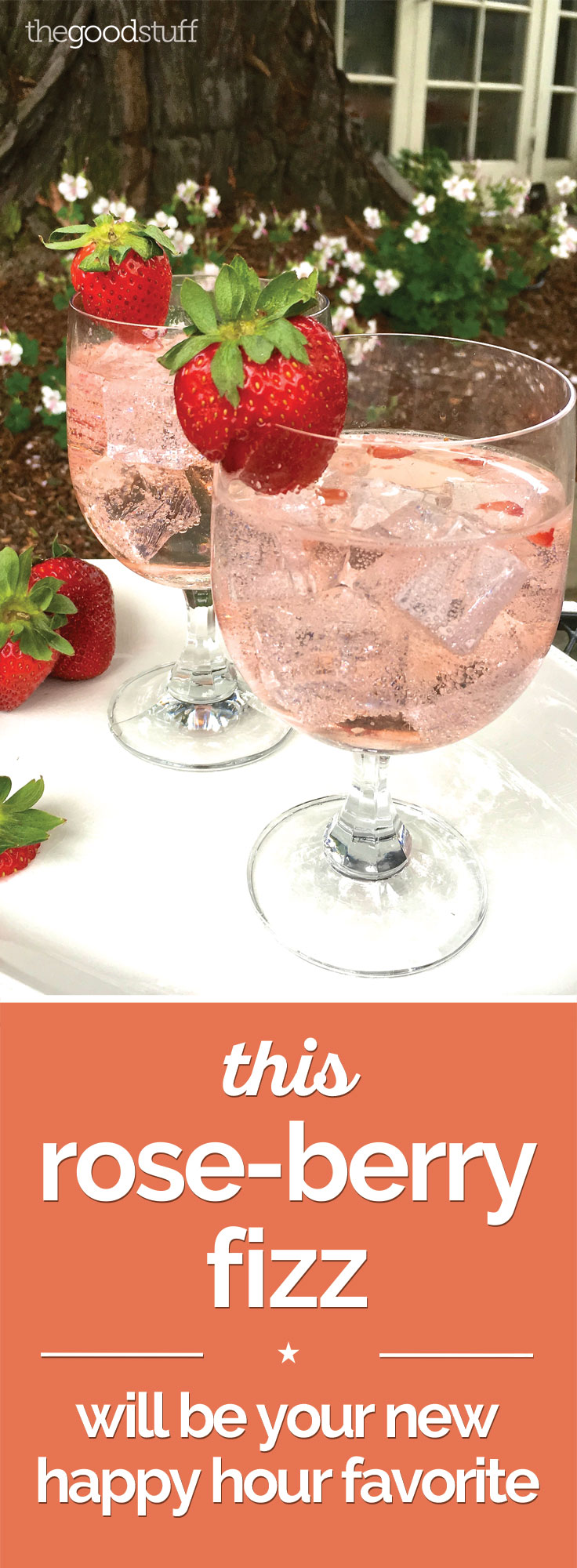 This Rose-Berry Fizz Will Be Your New Happy Hour Favorite | Coupons.com