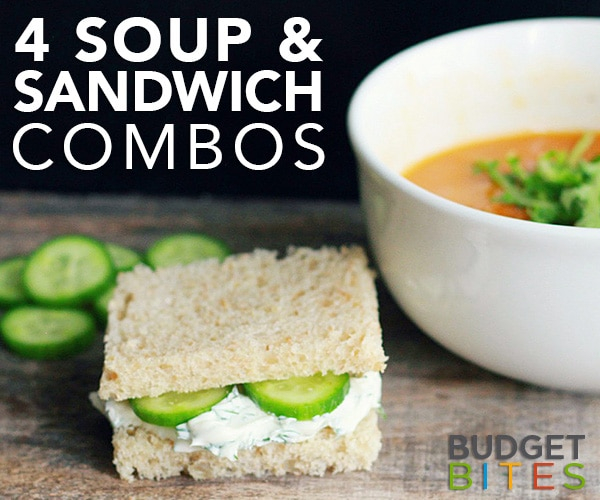 4 Soup and Sandwich Combos | thegoodstuff