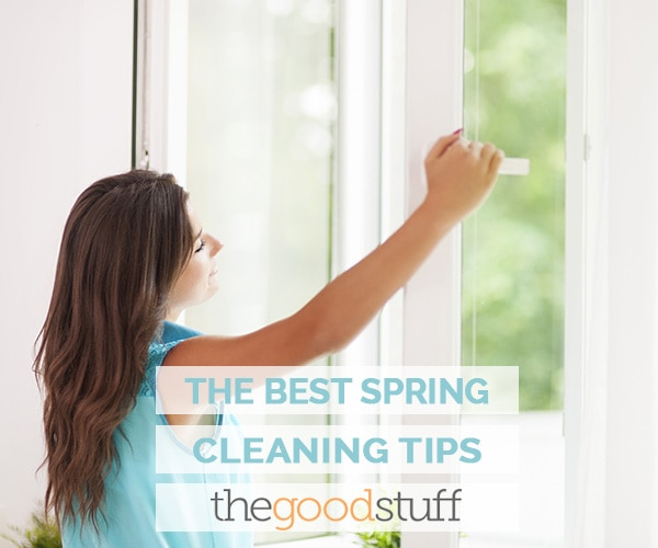 20+ Spring Cleaning Tips | thegoodstuff