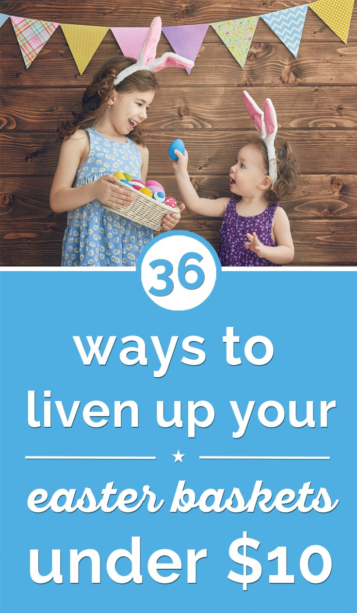 36 Ways to Liven Up Your Easter Baskets For Under $10 | Coupons.com