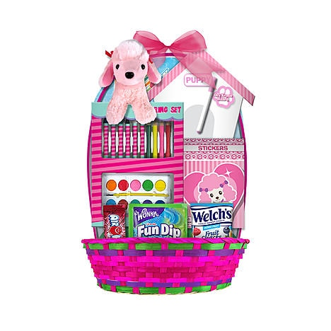 36 ways to liven up your easter baskets for under 10 coupons a ready made easter basket can be a time saver to start from just add a few more of her favorite treats or take the goodies stashed in this basket and put negle Choice Image