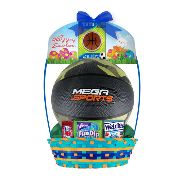 36 ways to liven up your easter baskets for under 10 coupons your sporty kids will love this ready made easter basket featuring a camo print basketball and some sweet treats just add another item or two to make it negle Gallery