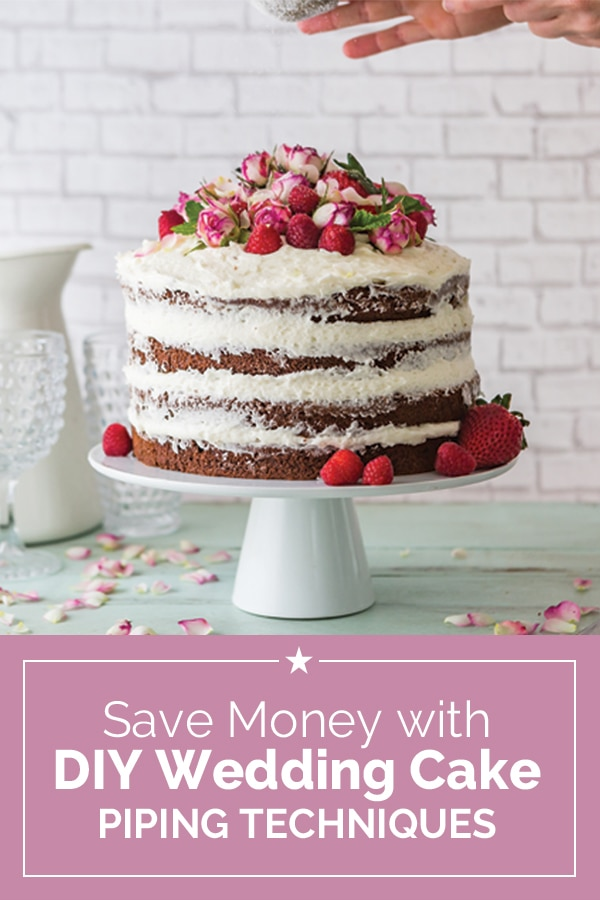 Save Money With Diy Wedding Cake Piping Techniques Thegoodstuff