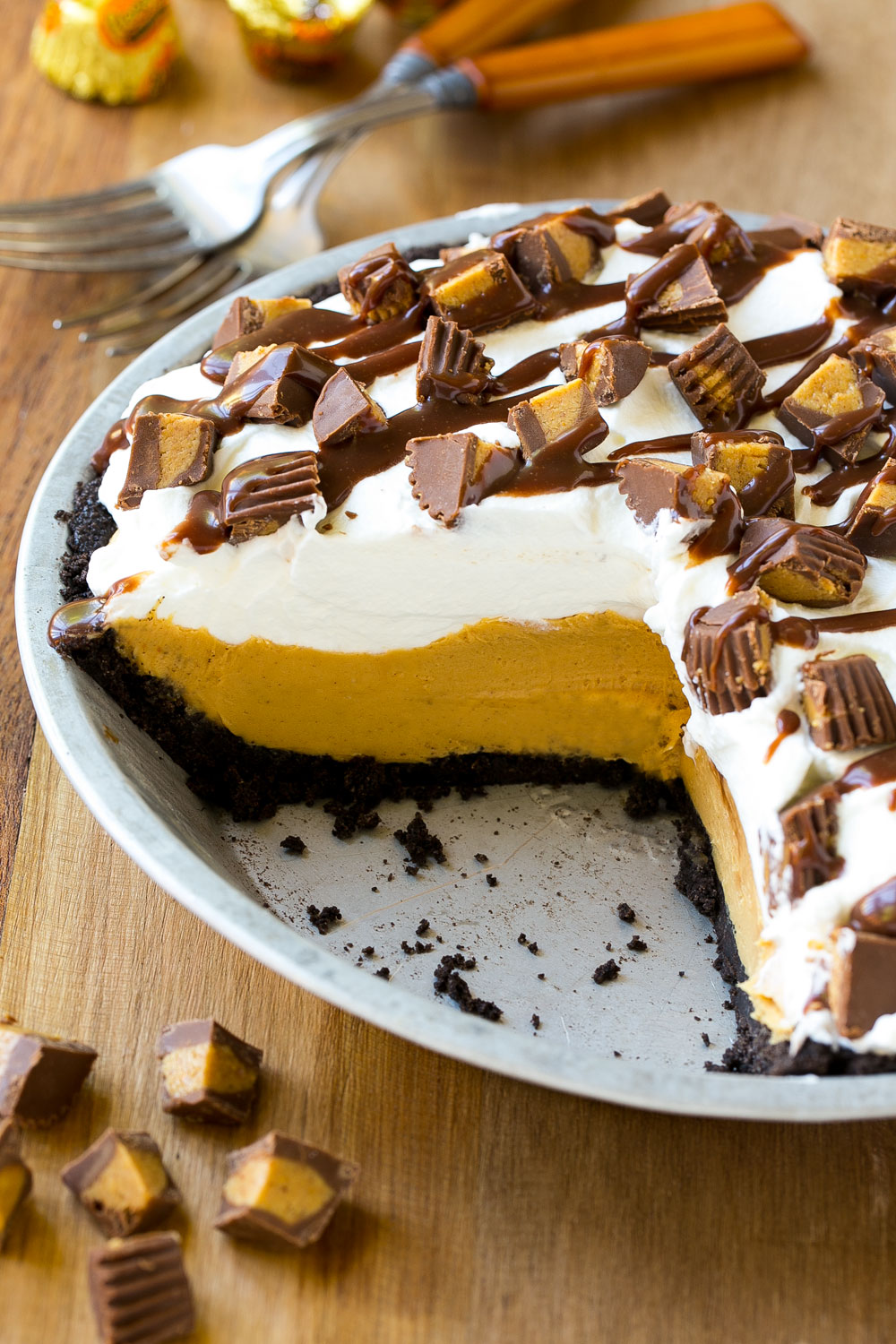 Get Decadent with this No Bake Reese's Peanut Butter Pie | Coupons.com