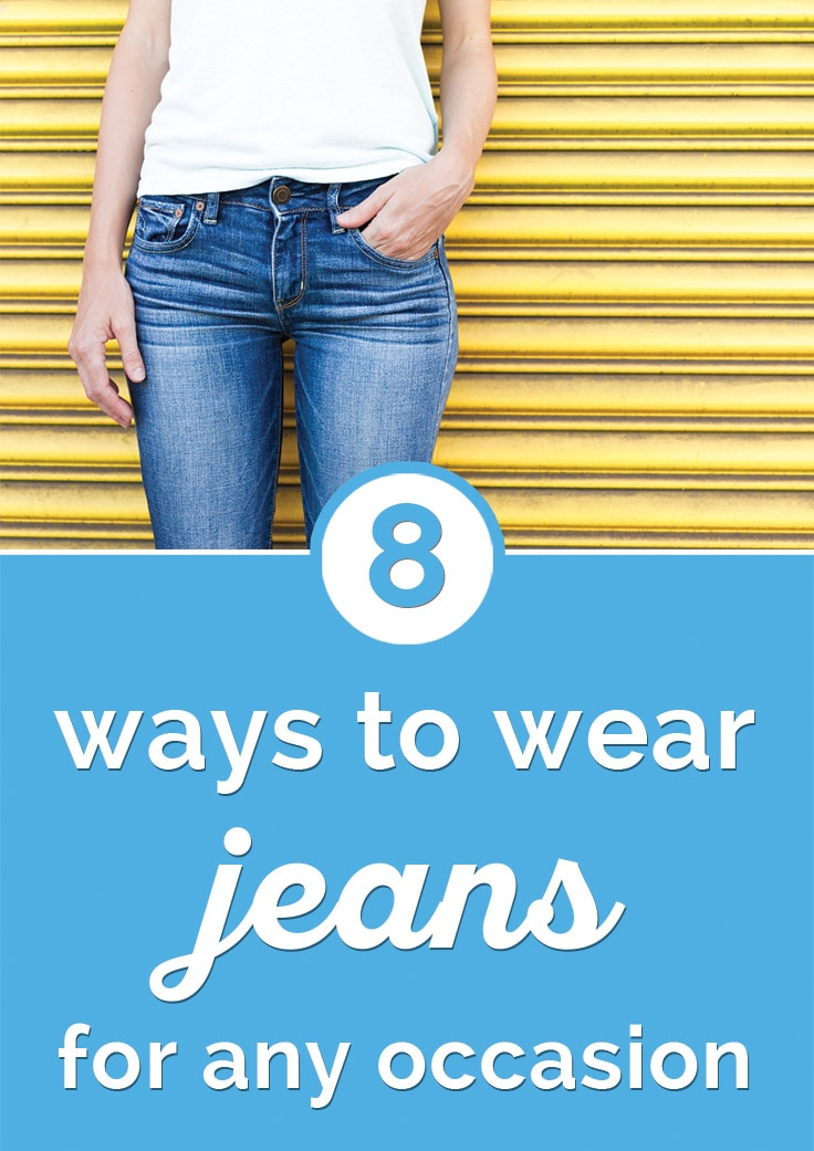 8 Ways to Wear Jeans for Any Occasion | Coupons.com