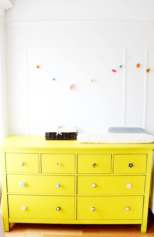 10. mismatched dresser knobs