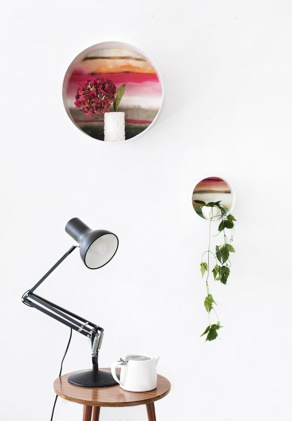 4. decorative shelves