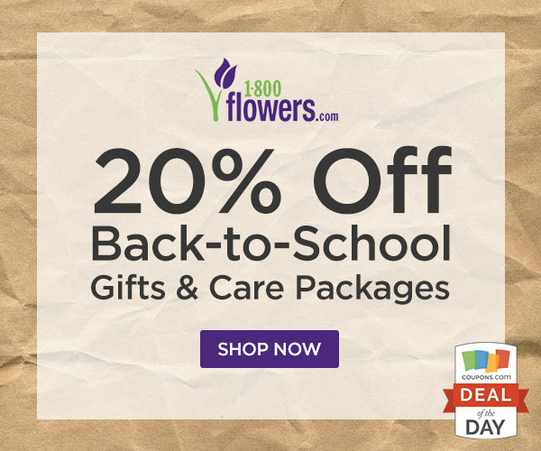 Right now you can Save 20% on 1800flowers when you Order Early for your Valentine.T-Mobile Tuesday is offering a few discounts for 1800-Flowers, Restaurant, ...