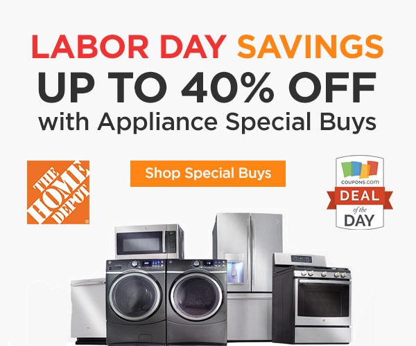 Home Depot Labor Day Kitchen Appliance Sale