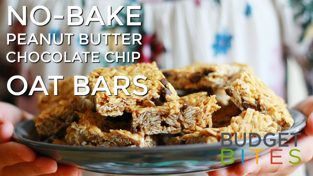 No Bake PB bars Thumb YT