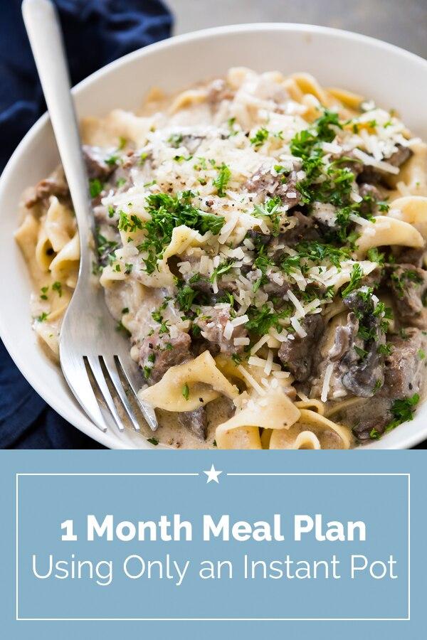 Instant Pot Meal Plan | Coupons.com