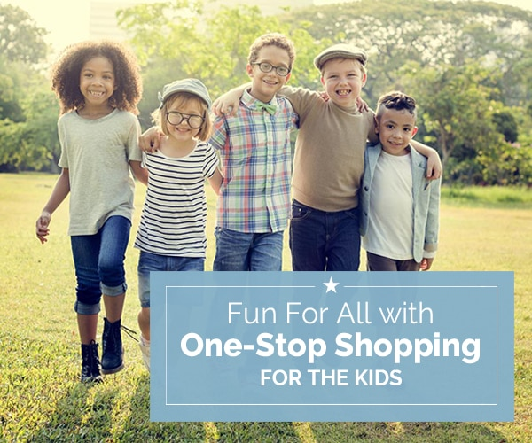 Fun For All with One-Stop Shopping for the Kids | Coupons.com