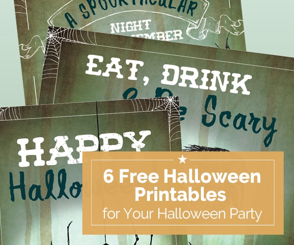 6 Free Halloween Printables for Your Halloween Party | Coupons.com