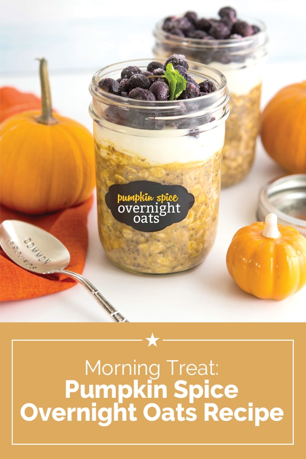 Morning Treat: Pumpkin Spice Overnight Oats Recipe | Coupons.com