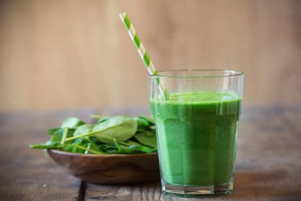 9. banana green smoothie