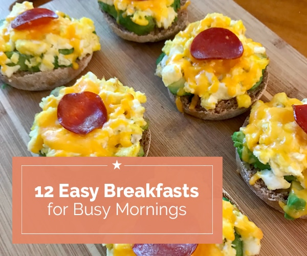 12 Easy Breakfasts for Busy Mornings | Coupons.com