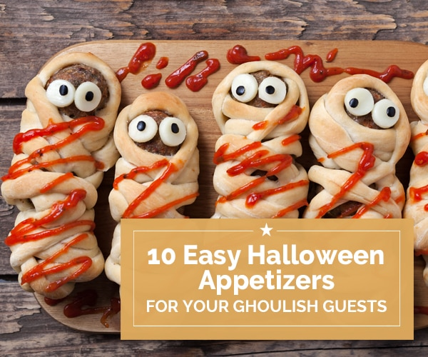 10 Easy Halloween Appetizers for Your Ghoulish Guests | Coupons.com