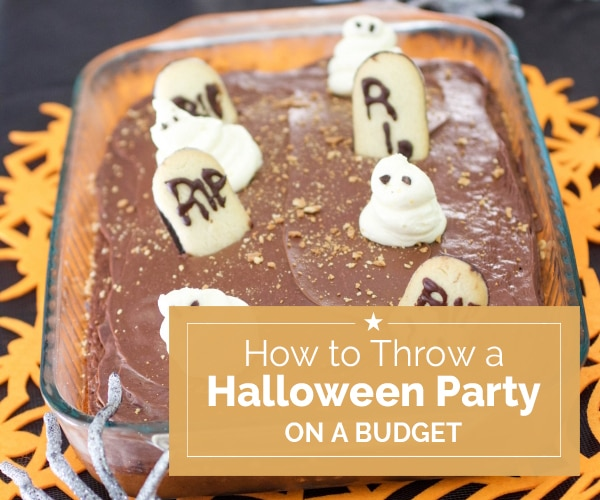 how to throw a halloween party on a budget thegoodstuff