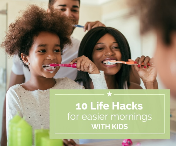 10 Life Hacks for Easier Mornings with Kids | Coupons.com