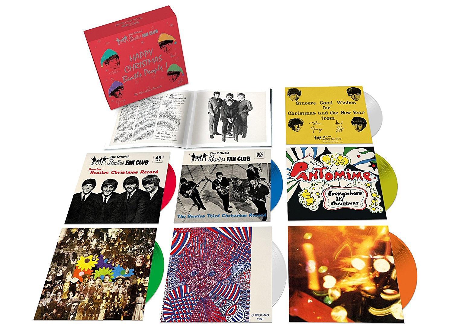 Entertainment Gift Guide-Beatles Christmas