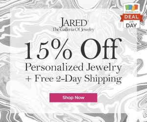 Deal of the Day: 15% Off at Jared