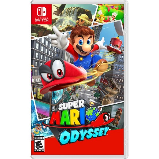 Entertainment Gift Guide -SuperMarioOdyssey