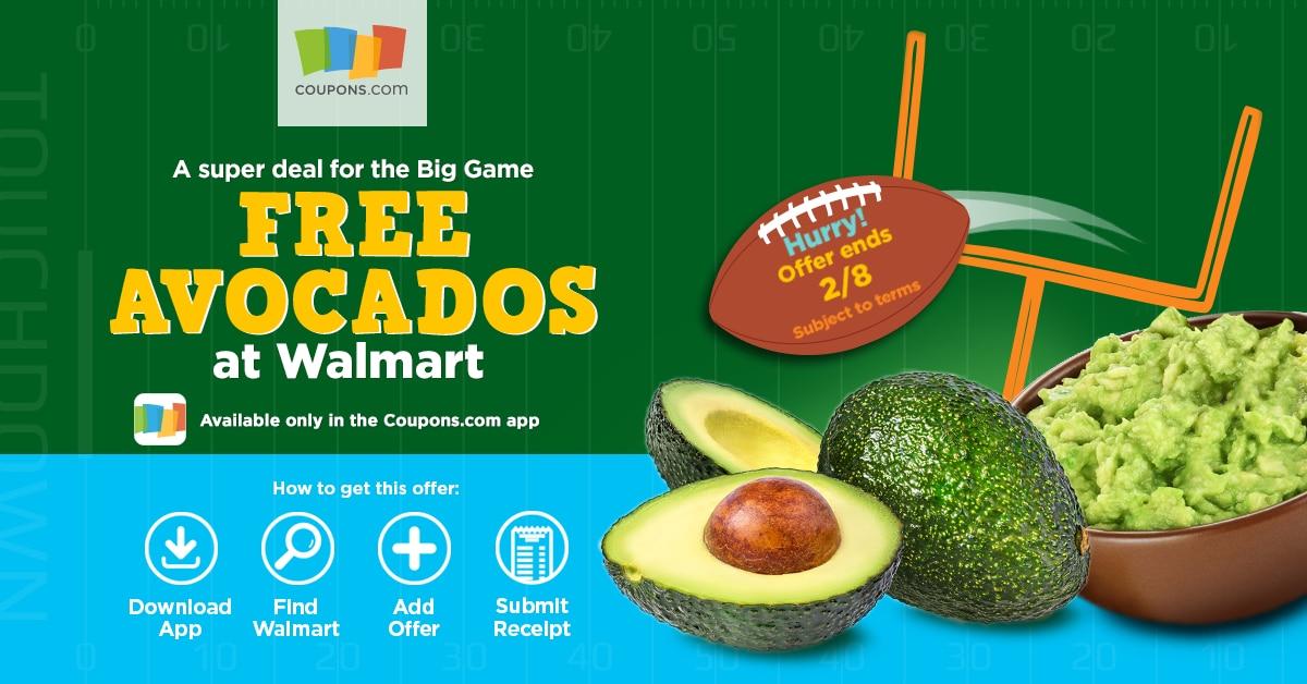 Avocado Coupons.com App