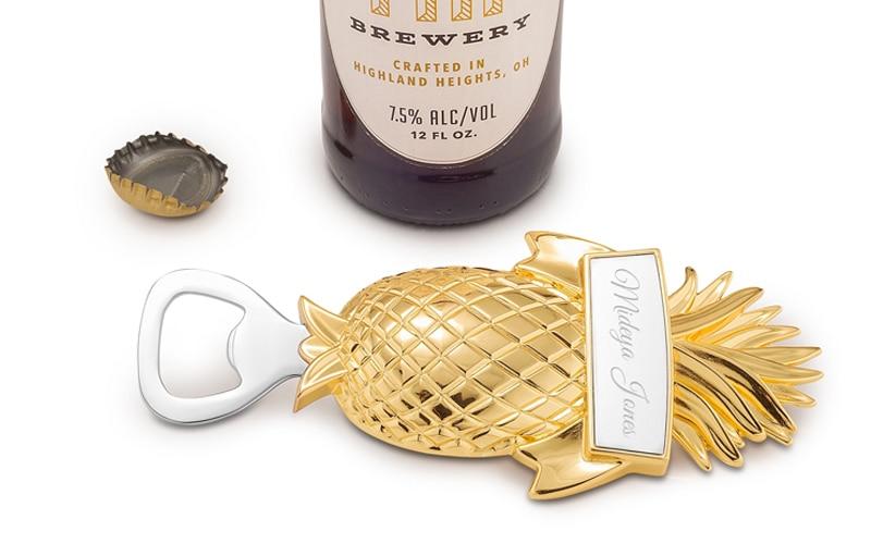 Things Remembered Pineapple Bottle Opener