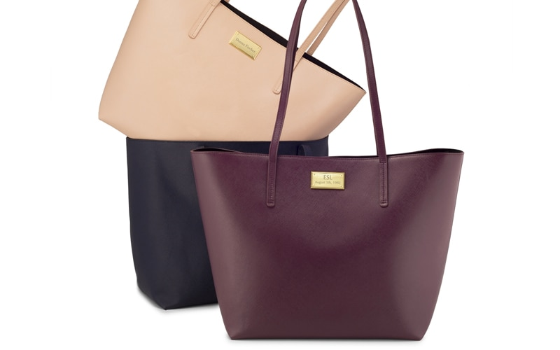 Things Remembered Leather Tote