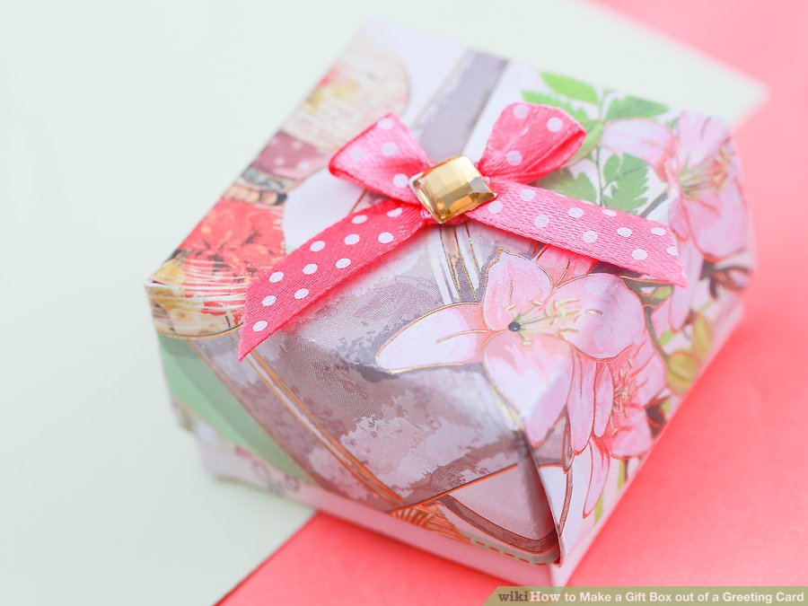 Gift Box Greeting Card