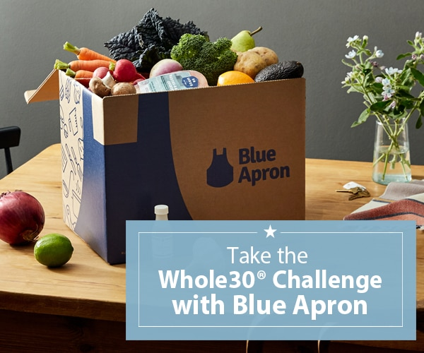 Blue Apron x Whole30