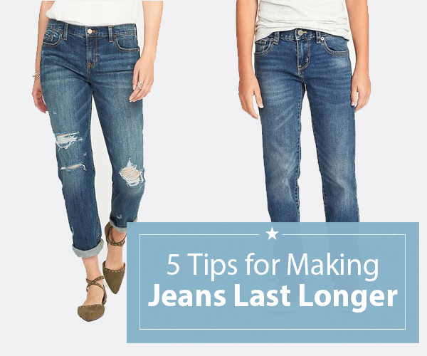 5 tips for making your jeans last longer