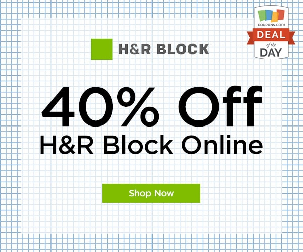 H & r block coupon code