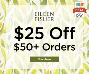 Deal of the Day: $25 Off at Eileen Fisher