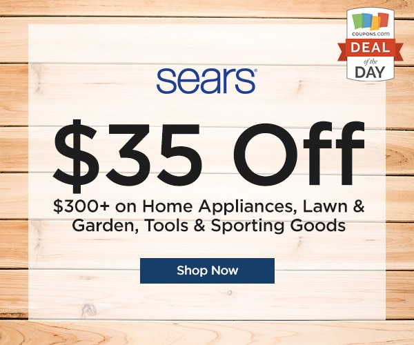 Deal Of The Day 35 Off 300 At Sears Thegoodstuff
