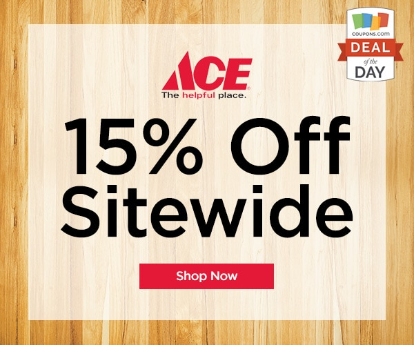 Deal Of The Day 15 Off At Ace Hardware Thegoodstuff