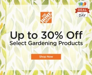Deal of the Day: Up to 30% Off at Home Depot