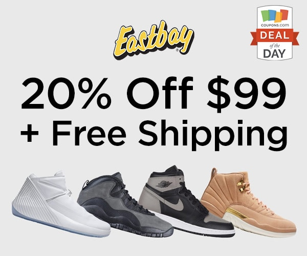 75a00091059fc2 Deal of the Day  20% Off  99 at Eastbay. by Coupons May 15 ...