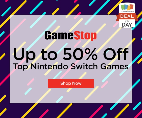 graphic about Gamestop Application Printable referred to as Package deal of the Working day: Up in the direction of 50% Off Nintendo Swap Online games