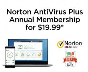 Deal of the Day: Norton AntiVirus for $19.99