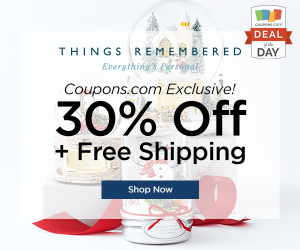 Deal of the Day: 30% Off at Things Remembered